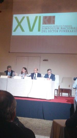 Simposium Nacional del Sector Funerario. Edición y Formación estuvo allí.